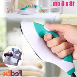 100W Mini Portable Steam Iron Home Handheld Fabric Laundry S
