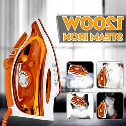 1200W Clothes Portable Steam Iron Home Handheld Fabric Laund