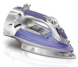 Hamilton Beach 14956 Steam Iron  Blue Silver