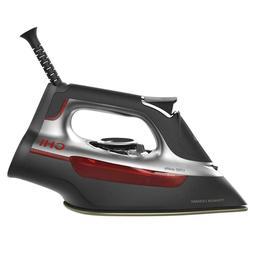 CHI 1700W Professional Steam Iron w/ Ceramic Soleplate & Ove