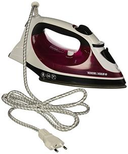 Black & Decker IR18680 Auto-Shut Off Steam Iron, 220V