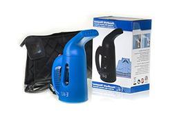 Blue Quick Steam Clothing and Garment Steamer - Bonus Elite