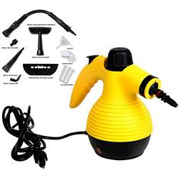 Goplus Handheld Multi-purpose Pressurized Steam Cleaner, San