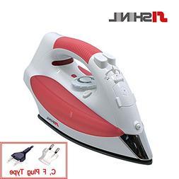 Shinil Steam Iron Cordless Garment Steamer 300ml Portable Ko