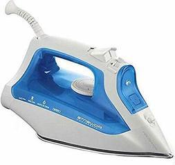 Rowenta AccessSteam Steam Iron, White/Blue