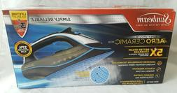 Sunbeam AERO Ceramic Soleplate Iron 5x more steam NEW