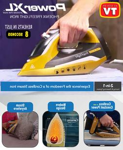 Power XL As Seen On TV Cordless Iron and Steamer 1400W Iron