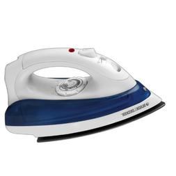 BLACK+DECKER IR0110W4 IR0110W Quick 'N Easy Iron, White, B