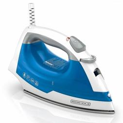 BLACK+DECKER IR03V Easy Steam Compact Iron  Laundry Irons Bl