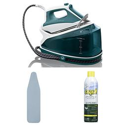 Rowenta DG7530 Compact 1800-Watt Steam Iron Station Stainles