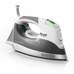 Digital Advantage Professional Steam Iron, LCD Screen, Gray,