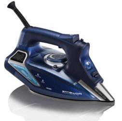 Rowenta DW9280 Steam Focus Steamforce 1800W Iron Blue Stainl
