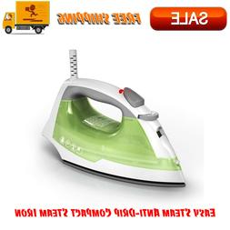 Easy Steam Anti-Drip Compact Steam Iron, Green, IR02V Nonsti