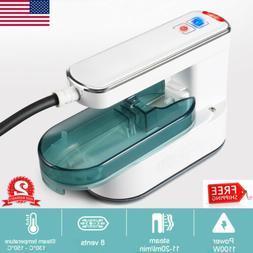 Electric Steam Iron Handheld Garment Steamer Travel Compact
