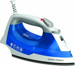 Electric Steam Travel Iron Nonstick Spray Smart Temp Solepla