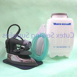 es 300 gravity feed industrial electric steam