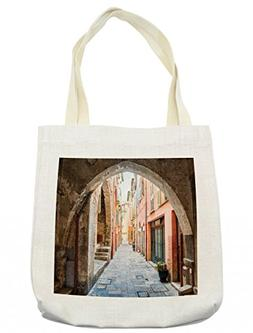 Lunarable European Tote Bag, Stone Arch Medieval Heritage Co
