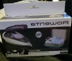 *Rowenta First Class Dual Volt Compact Travel Iron DA1560 BR
