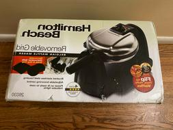 Flip Belgian Waffle Maker with Removable Non-Stick Grids