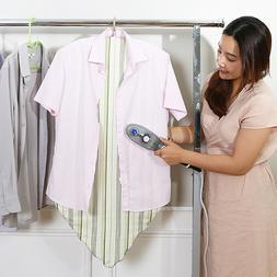 hanger standing ironing board for garment steamer