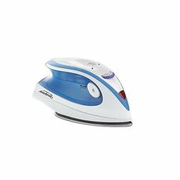 Hot-2-Trot 800 Watt Compact Non-Stick Soleplate Travel Iron,