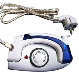 cyclamen9 Travel Iron Steam Electric Sunbeam Portable Compac