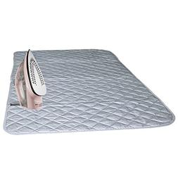 Bukm Ironing Blanket, Magnetic Ironing Mat Laundry Pad, Quil