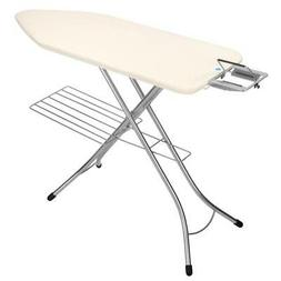 Brabantia Ironing Table 124x45 cm, Steam Iron Rest and Linen