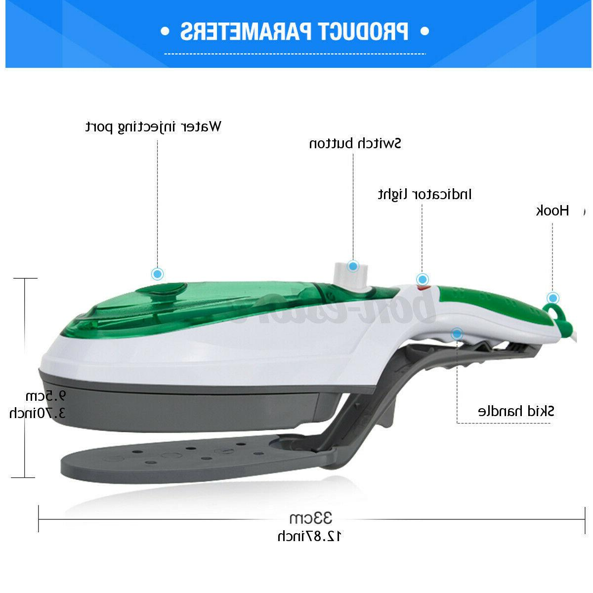 1000W Electric Steam Iron Hand Laundry Steamer Brush