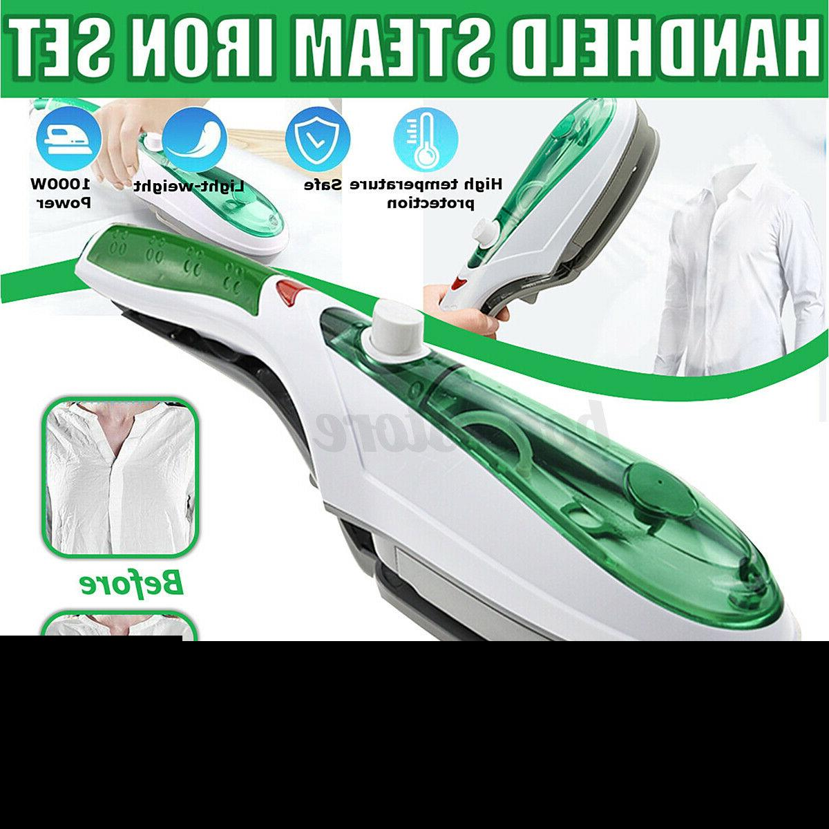 1000w electric steam iron hand handheld fabric