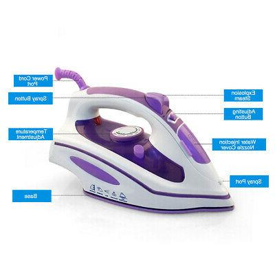 1200W Electric Steam Clothes Laundry Handheld