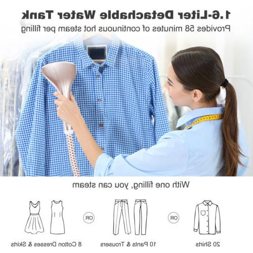 2-in-1 Steamer Stand Duty Fabric Iron