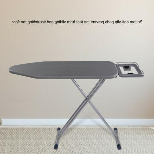 "36"" Adjustable Board Table Iron Portable"