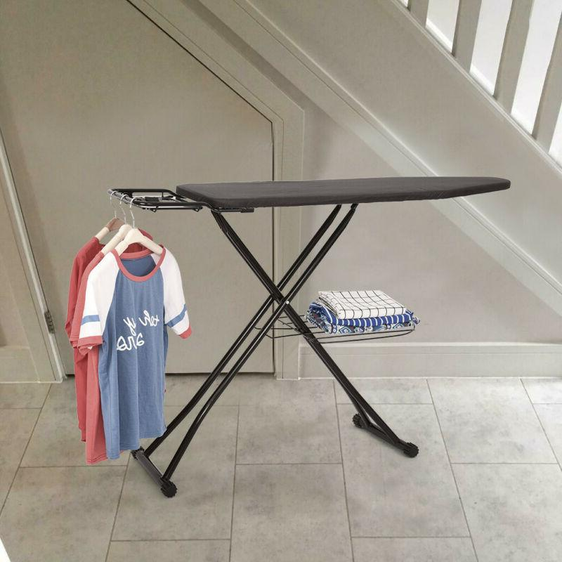 48x15'' Ironing Board Steam Iron Adjustable Board With