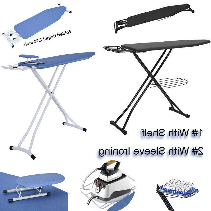 48x15 ironing board with steam iron rest