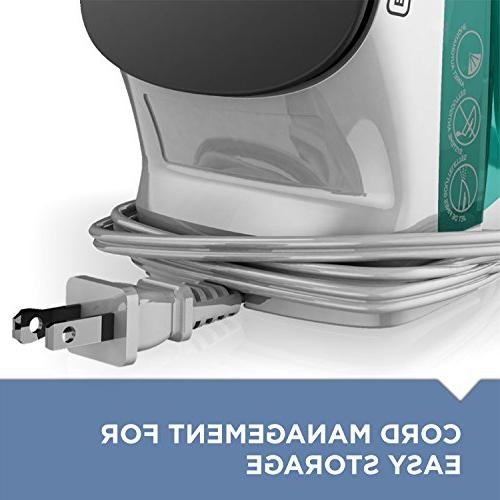 Compact Steam Iron, Turquoise, IR1010