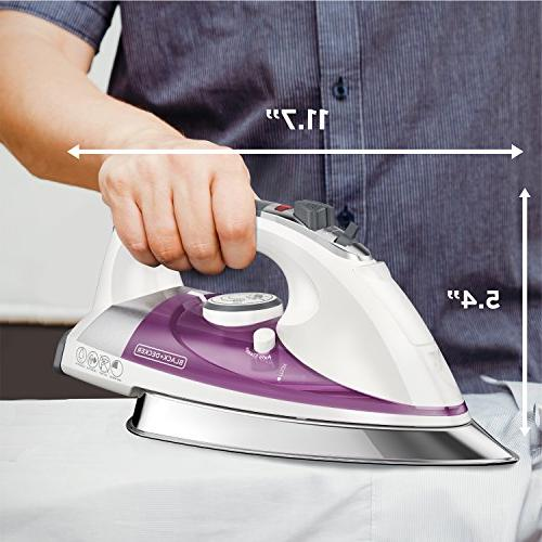 BLACK+DECKER Professional with Extra Large Purple, IR1350S