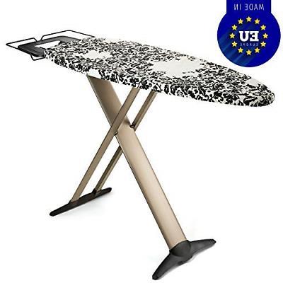 "Bartnelli Pro Luxery Extra Wide Ironing Board 51x19"", Stea"