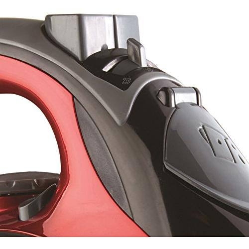 Brentwood Mpi 59r Non Stick Steam Iron Red