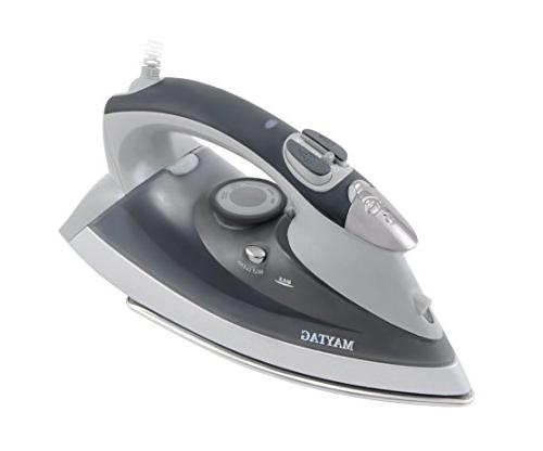 Maytag M400 Speed Heat Steam Iron Steamer Sole Self Function