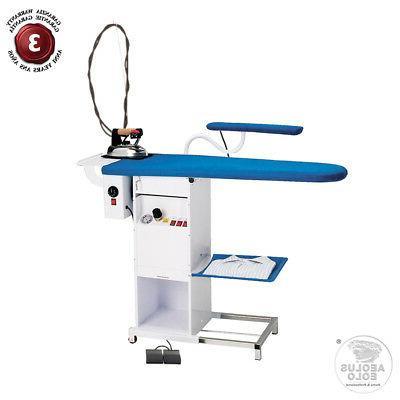 aeolus steam generator ironing board vacuum blowing