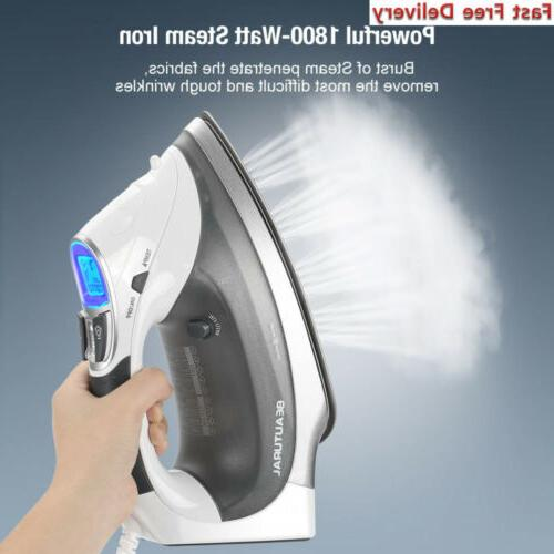 Beautural 1800-Watt Steam with Screen, Double Ceramic...