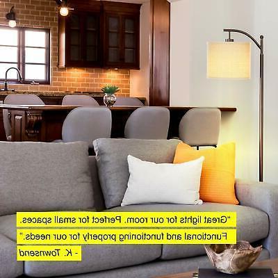 Brightech Montage - Bedroom & Living Room Floor Lamp Standin