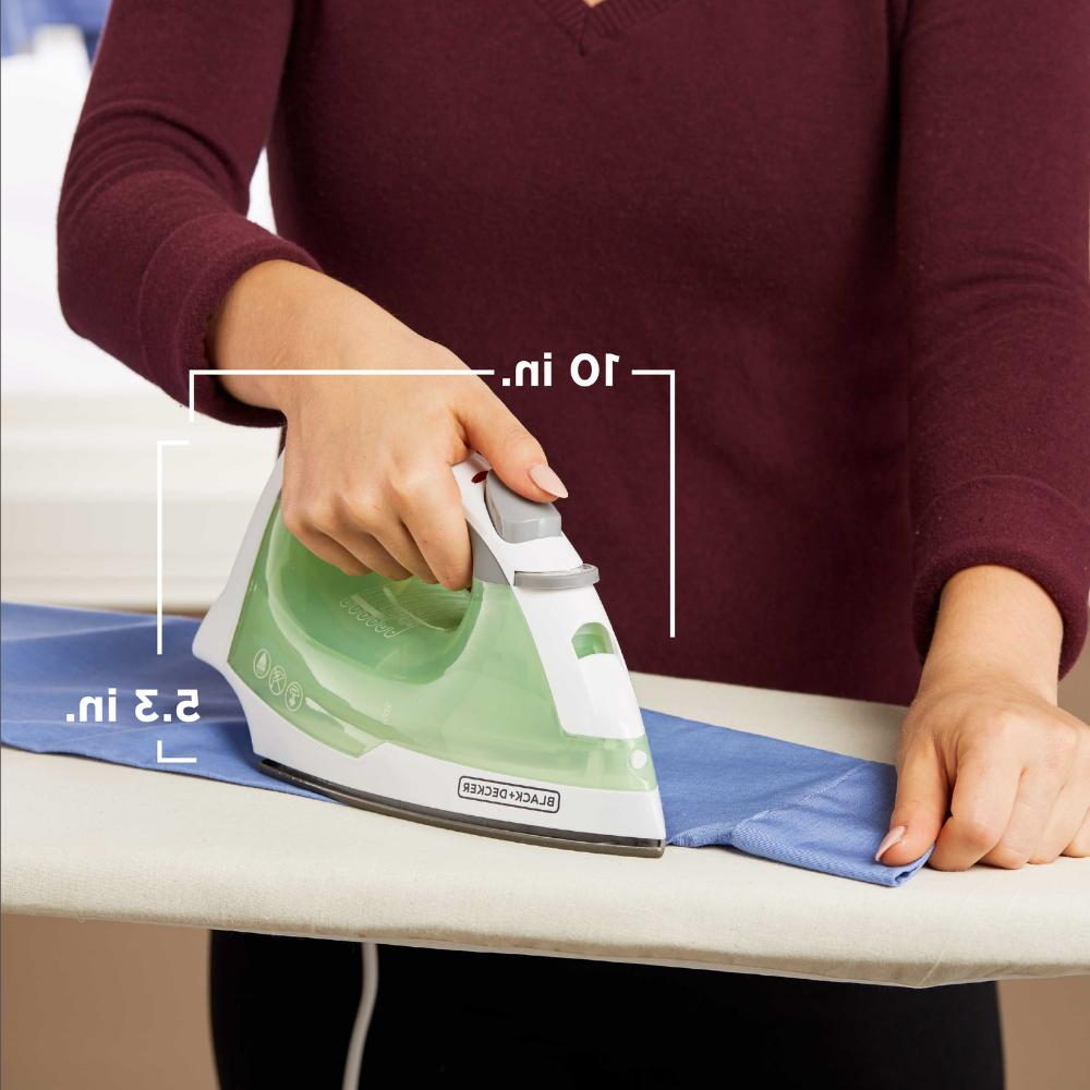 Compact Easy Steam Anti-Drip Nonstick Handle Clothes