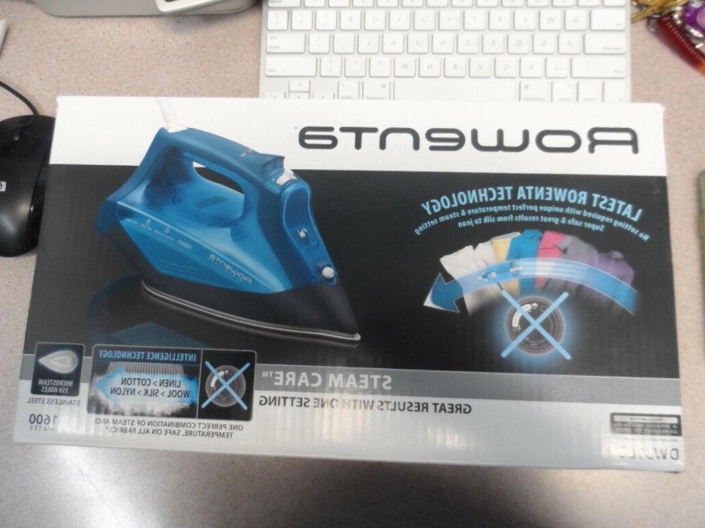 dw3180 steamcare 1600 watt no setting no