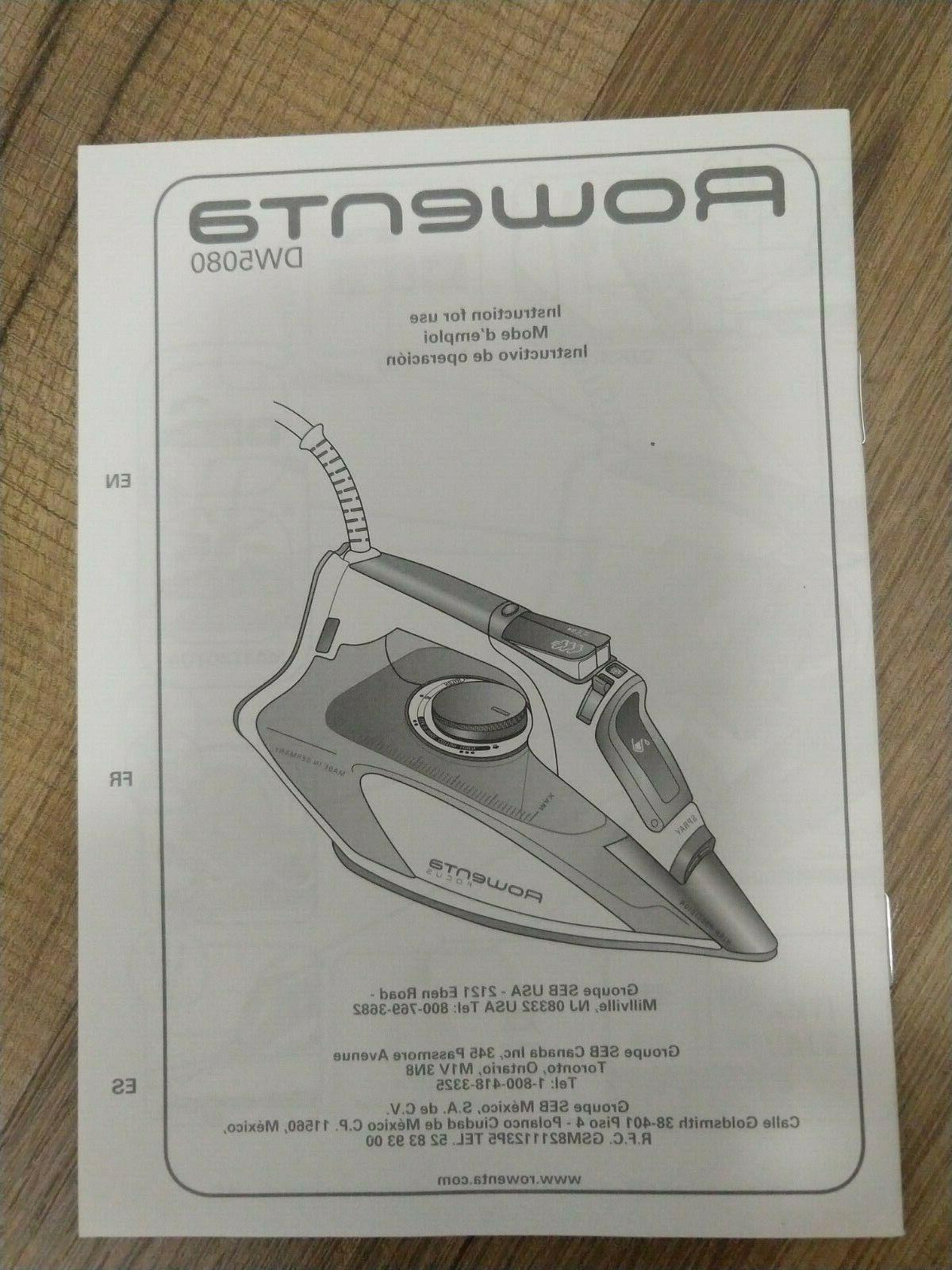 Rowenta Steam Auto-Off