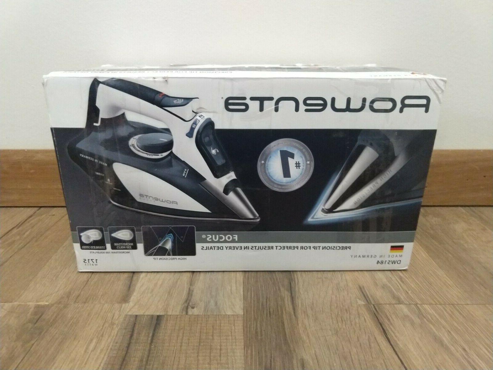 dw5184 1700 watt focus steam iron w