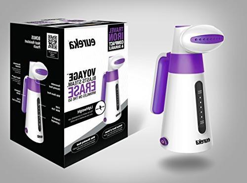 Eureka ERV2B 100ml Handheld Steamer, Travel Small August Model