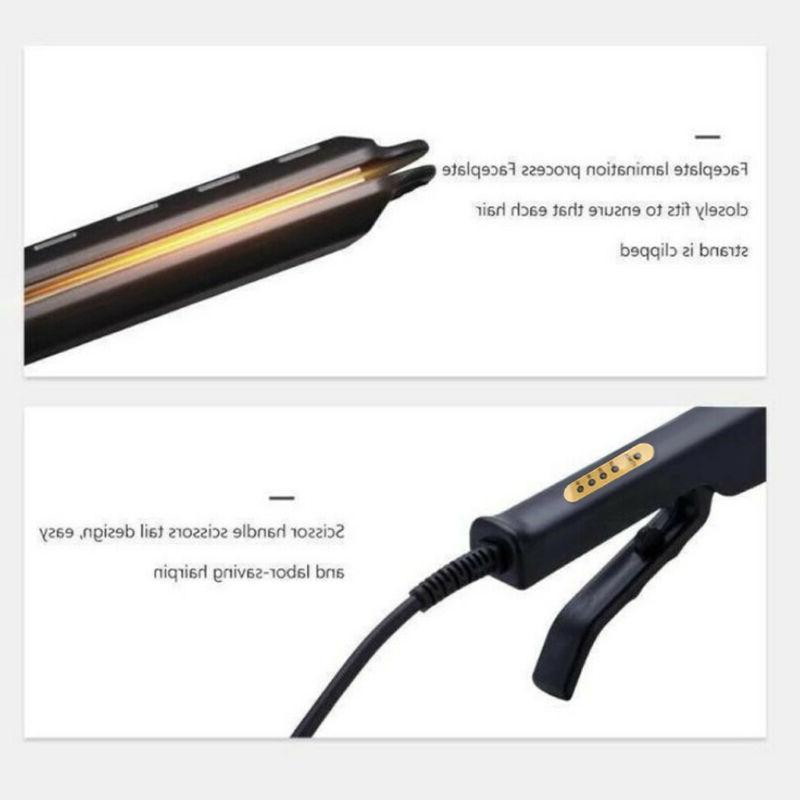 Four-gear Tourmaline Flat Straightener