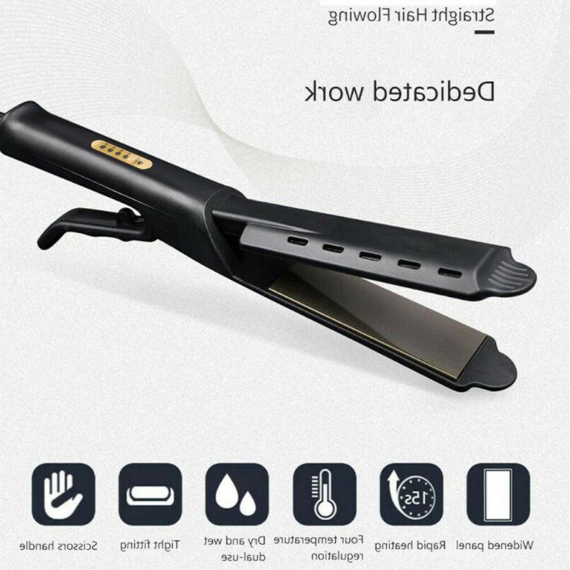 Four-gear Flat Iron Heat Steam Styler